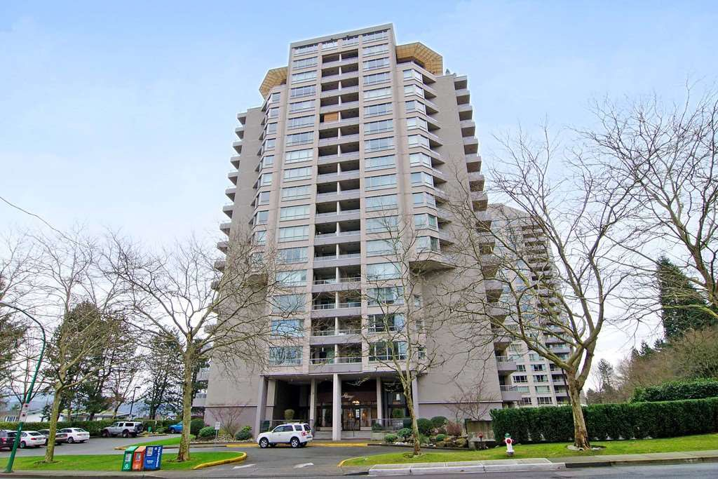 Main Photo: 908 6070 MCMURRAY AVENUE in Burnaby: Forest Glen BS Condo for sale (Burnaby South)  : MLS®# R2088955