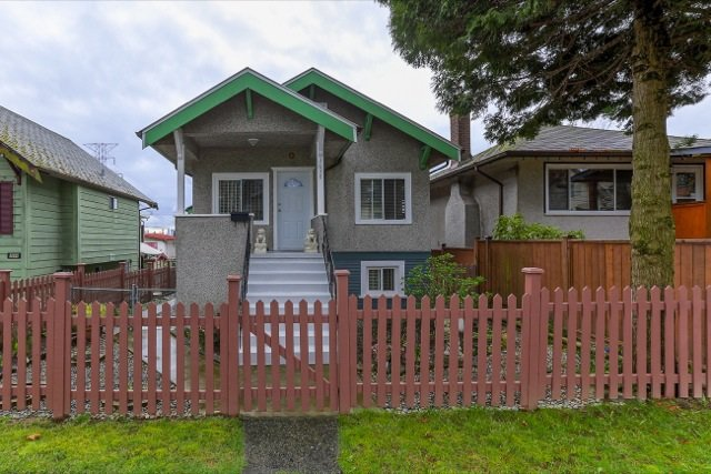 Main Photo: 3658 TURNER STREET in Vancouver: Renfrew VE House for sale (Vancouver East)  : MLS®# R2047927