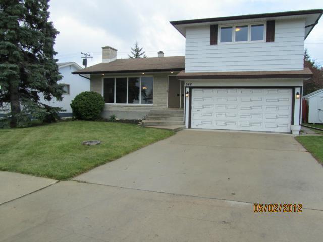 Main Photo: 248 Nightingale Road in WINNIPEG: St James Residential for sale (West Winnipeg)  : MLS®# 1208472