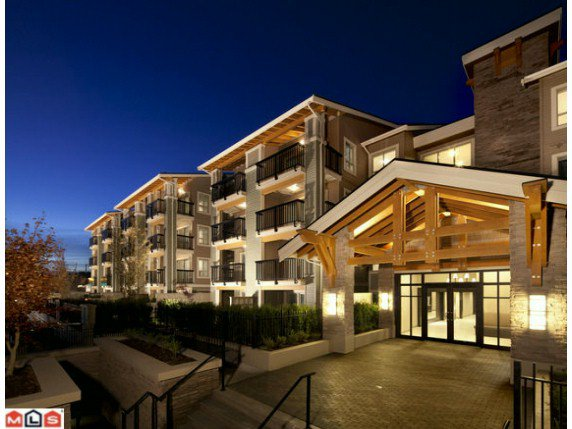 "Main Photo: 406 21009 56TH Avenue in Langley: Salmon River Condo for sale in ""Cornerstone"" : MLS®# F1225980"