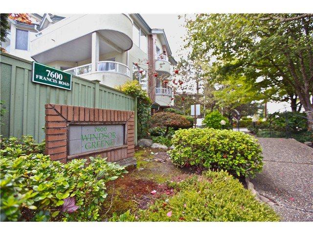 Main Photo: 206-7600 FRANCIS RD in RICHMOND: Broadmoor Condo for sale (Richmond)  : MLS®# V1028440