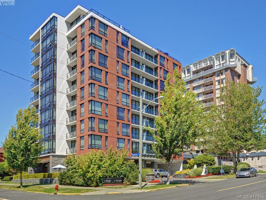 Main Photo: 701 500 Oswego Street in VICTORIA: Vi James Bay Condo Apartment for sale (Victoria)  : MLS®# 417466
