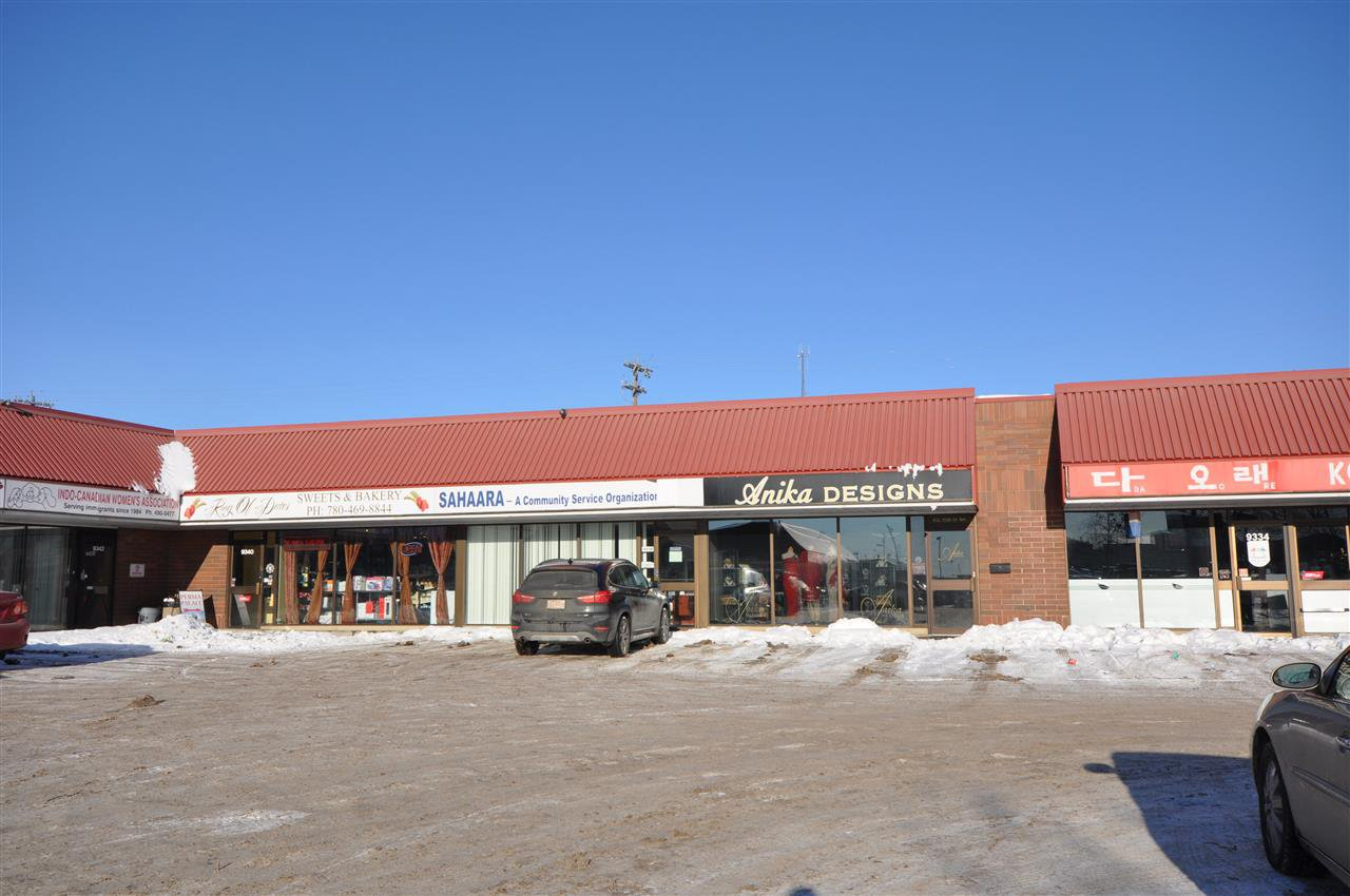 Main Photo: 9340 & 9370 34 Avenue in Edmonton: Zone 41 Business with Property for sale or lease : MLS®# E4185357