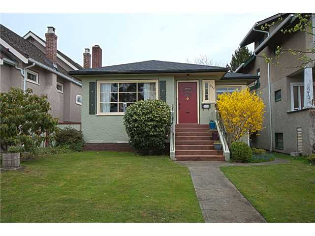 Main Photo: 7642 HUDSON Street in Vancouver: South Granville House for sale (Vancouver West)  : MLS®# V941611
