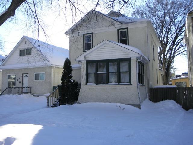 Main Photo: 608 Alverstone Street in WINNIPEG: West End / Wolseley Residential for sale (West Winnipeg)  : MLS®# 1304476