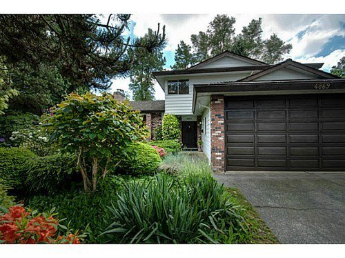 Main Photo: 4869 COLBROOK Court in Burnaby South: Deer Lake Place Home for sale ()  : MLS®# V1007008