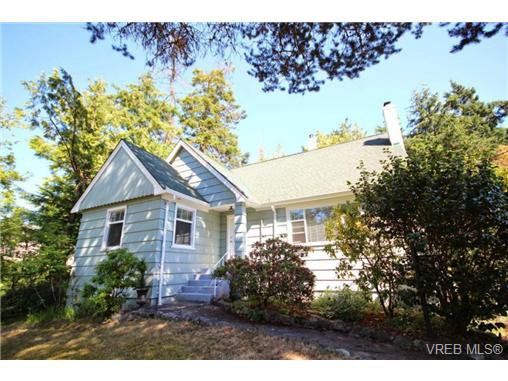 Main Photo: 3961 Sherwood Rd in VICTORIA: SE Queenswood House for sale (Saanich East)  : MLS®# 677190