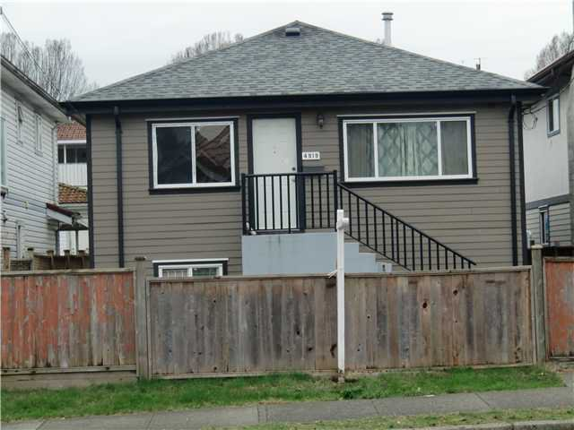 Main Photo: 4919 Rupert St in Vancouver: Collingwood VE House for sale (Vancouver East)  : MLS®# V1103427