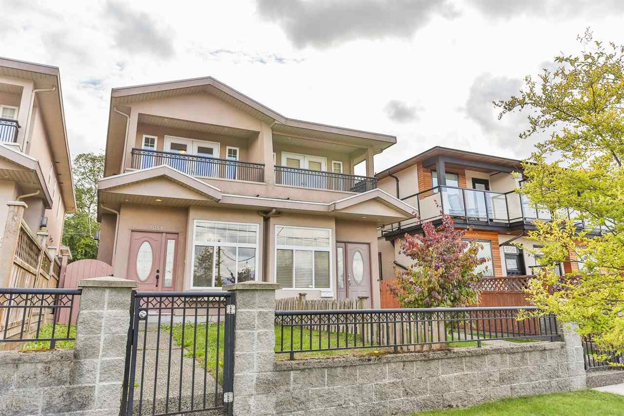 Main Photo: 5058 DOMINION STREET in Burnaby: Central BN House 1/2 Duplex for sale (Burnaby North)  : MLS®# R2001241