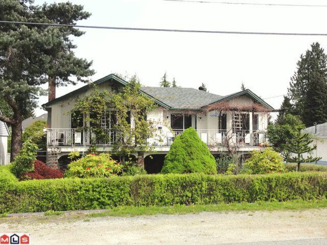 Main Photo: 11645 97A Avenue in Surrey: Royal Heights House for sale (North Surrey)  : MLS®# F1212276