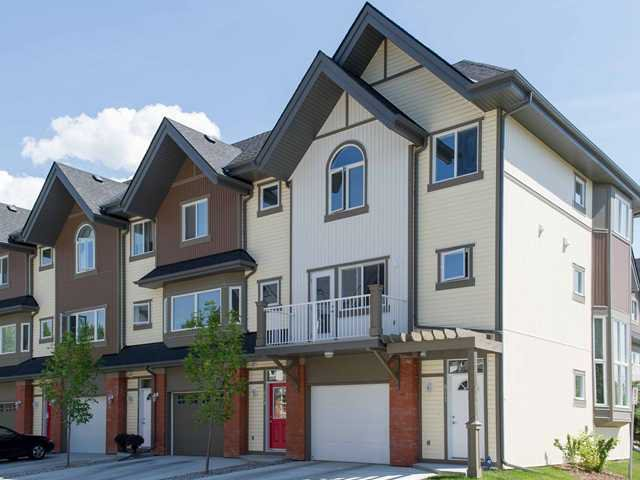 Main Photo: 911 WENTWORTH Villa SW in CALGARY: West Springs Townhouse for sale (Calgary)  : MLS®# C3532088