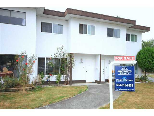 Main Photo: 21466 MAYO PL in Maple Ridge: West Central Condo for sale : MLS®# V1050600