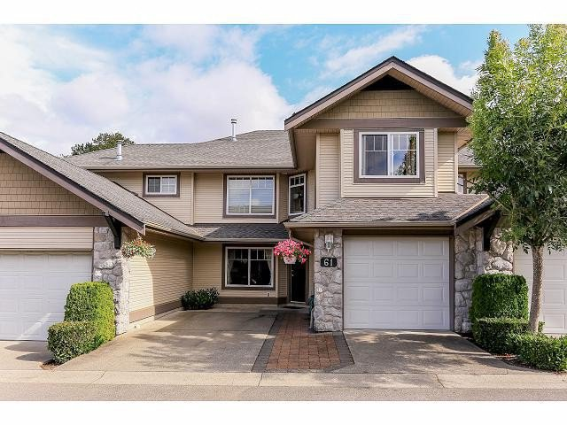 Main Photo: 61 8888 151ST Street in Surrey: Bear Creek Green Timbers Townhouse for sale : MLS®# F1418058