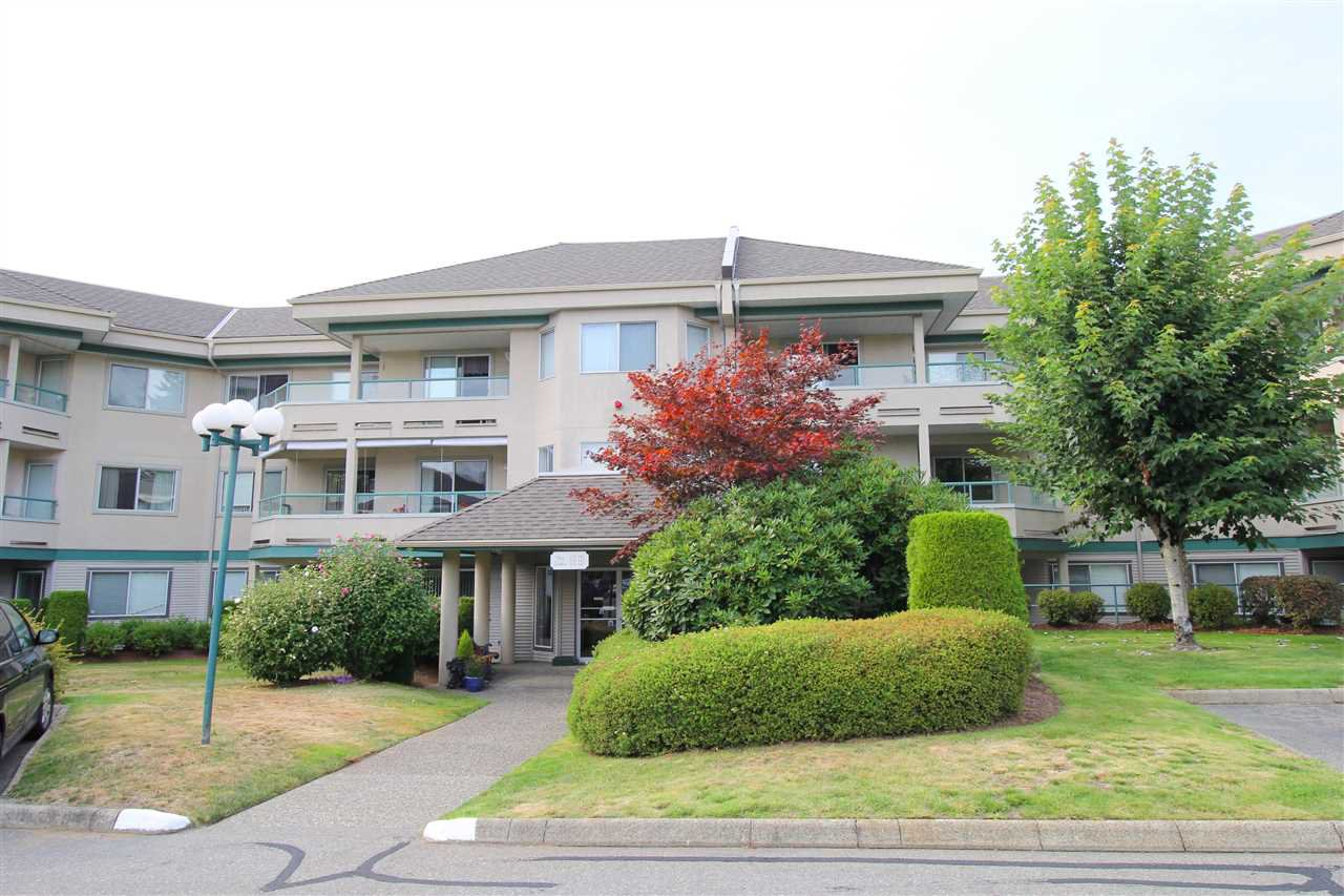 "Main Photo: 235 2451 GLADWIN Road in Abbotsford: Abbotsford West Condo for sale in ""Centennial Court"" : MLS®# R2403099"