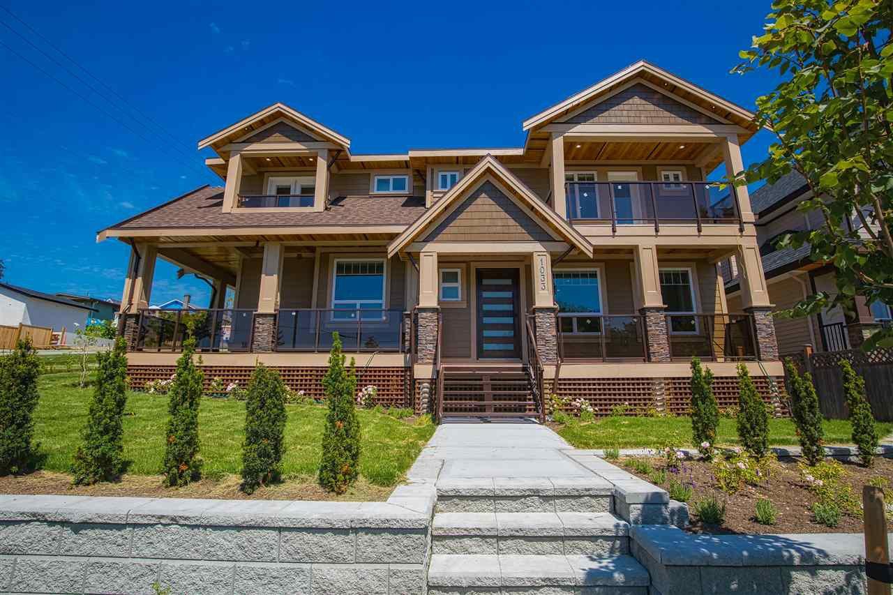 Main Photo: 1033 DELESTRE Avenue in Coquitlam: Maillardville 1/2 Duplex for sale : MLS®# R2426231