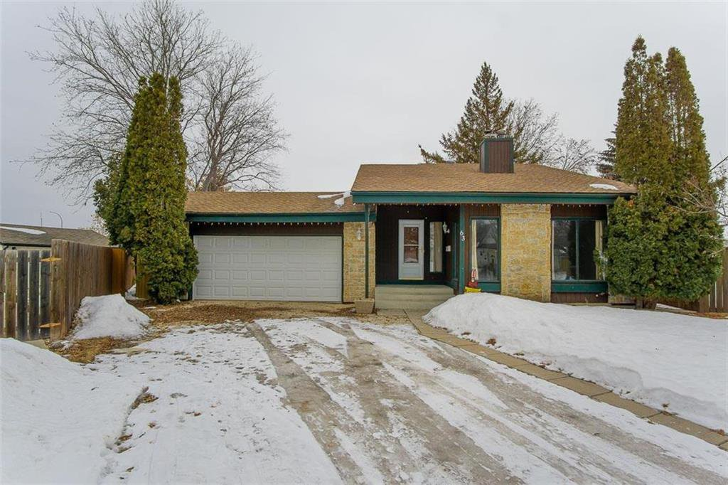 Main Photo: 63 Ashford Drive in Winnipeg: River Park South Residential for sale (2F)  : MLS®# 202006494