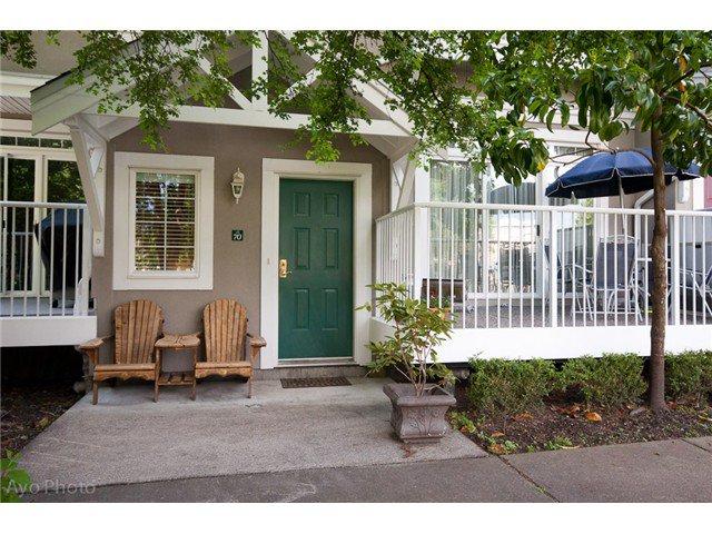 "Main Photo: # 70 2422 HAWTHORNE AV in Port Coquitlam: Central Pt Coquitlam Townhouse for sale in ""Hawthorne Gate"" : MLS®# V1009347"