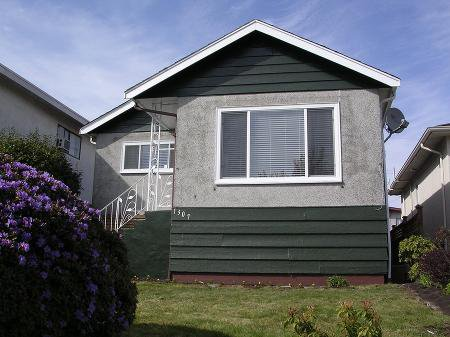 Main Photo: 1307 E 61ST AVE.: House for sale (South Vancouver)