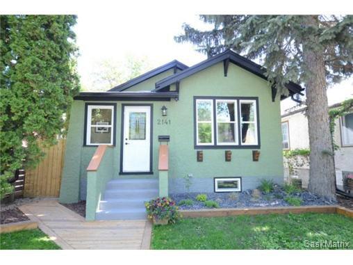 Main Photo: 2141 MCTAVISH Street in Regina: Cathedral Single Family Dwelling for sale (Regina Area 03)  : MLS®# 465383