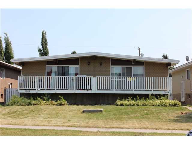 Main Photo: 3810 45 Street SW in CALGARY: Glenbrook Duplex Side By Side for sale (Calgary)  : MLS®# C3629922