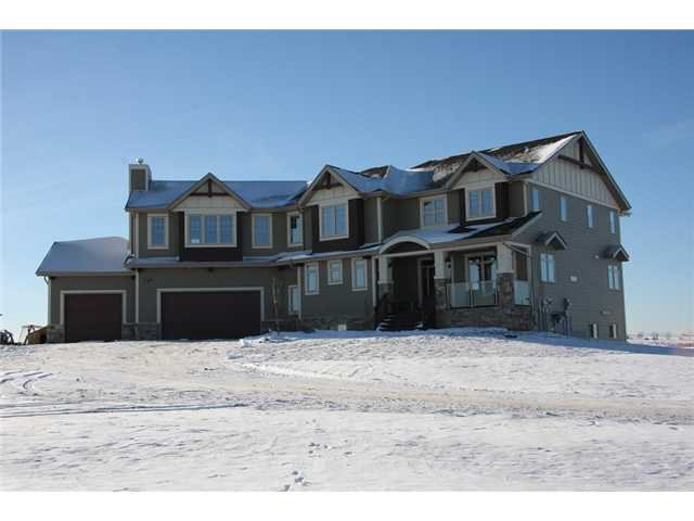 Main Photo: 104051 Sunset Hills BV: Rural Foothills M.D. CRES for sale : MLS®# C3648256