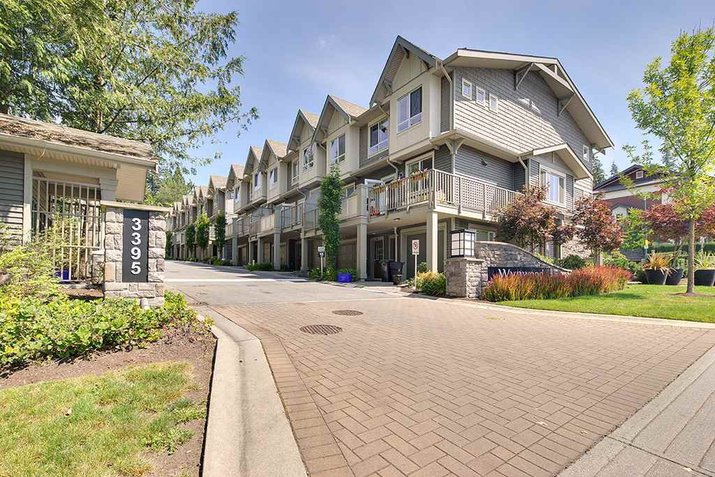 Main Photo: 31 3395 GALLOWAY AVENUE in Coquitlam: Burke Mountain Townhouse for sale : MLS®# R2097074