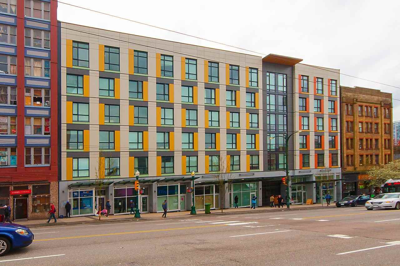 Main Photo: 607 138 E HASTINGS STREET in : Downtown VE Condo for sale : MLS®# R2264574