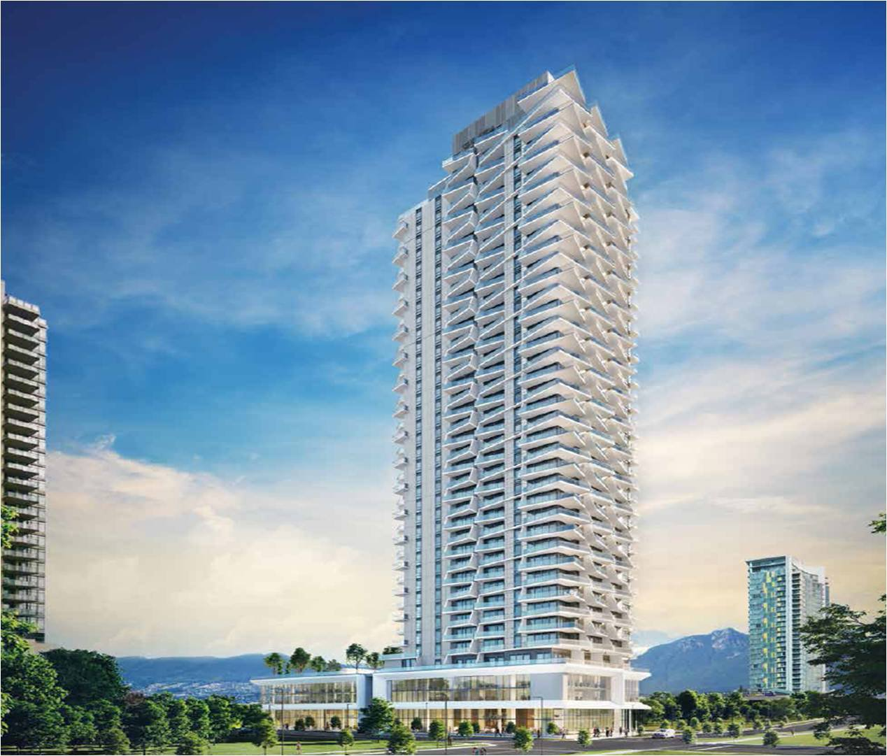 Main Photo: #1303 at AKIMBO by IMANI in Burnaby: Brentwood Park Condo for sale (Burnaby North)