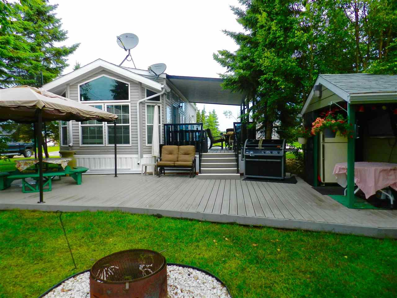 Main Photo: 109 53126 RGE RD 70: Rural Parkland County Manufactured Home for sale : MLS®# E4204174