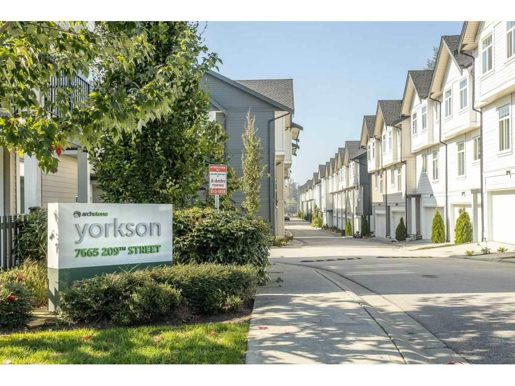"Main Photo: 12 7665 209 Street in Langley: Willoughby Heights Townhouse for sale in ""Archstone"" : MLS®# R2508978"