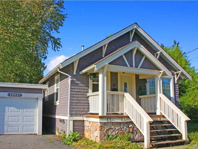 Main Photo: 20631 BATTLE Avenue in Maple Ridge: Southwest Maple Ridge House for sale : MLS®# V949759