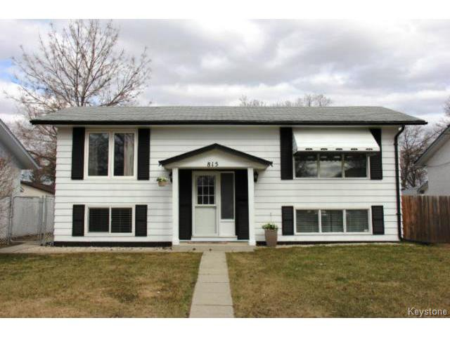 Main Photo: 815 Isbister Street in WINNIPEG: Westwood / Crestview Residential for sale (West Winnipeg)  : MLS®# 1409219