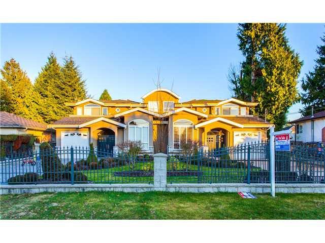 Main Photo: 1588 BLAINE AV in Burnaby: Sperling-Duthie 1/2 Duplex for sale (Burnaby North)  : MLS®# V1093688