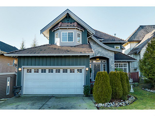 Main Photo: 47 Birchwood Cr in Port Moody: Heritage Woods PM House for sale