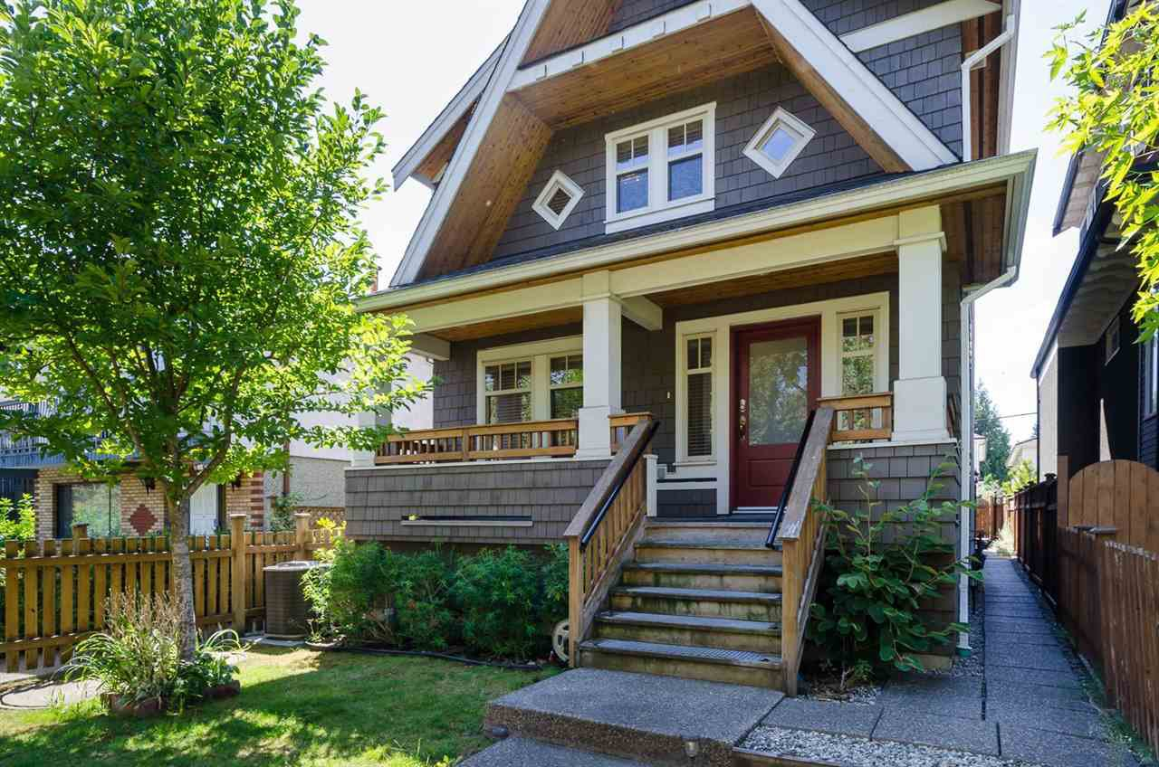 Main Photo: 1252 E 11TH AVENUE in Vancouver: Mount Pleasant VE House 1/2 Duplex for sale (Vancouver East)  : MLS®# R2002820