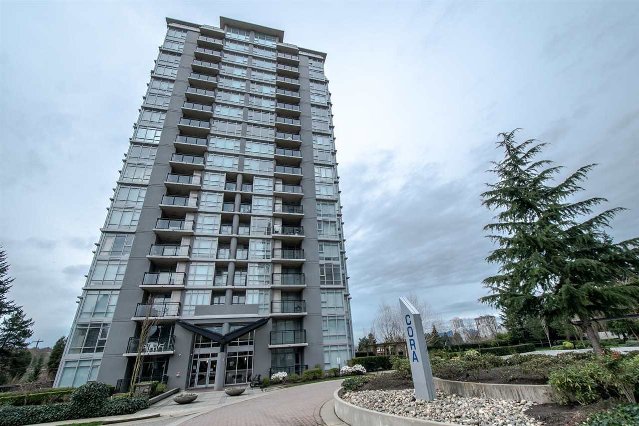 Main Photo: 1203 555 DELESTRE AVENUE in Coquitlam: Coquitlam West Condo for sale : MLS®# R2046323