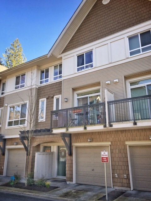 Main Photo: 28 1305 SOBALL STREET in Coquitlam: Burke Mountain Townhouse for sale : MLS®# R2046035
