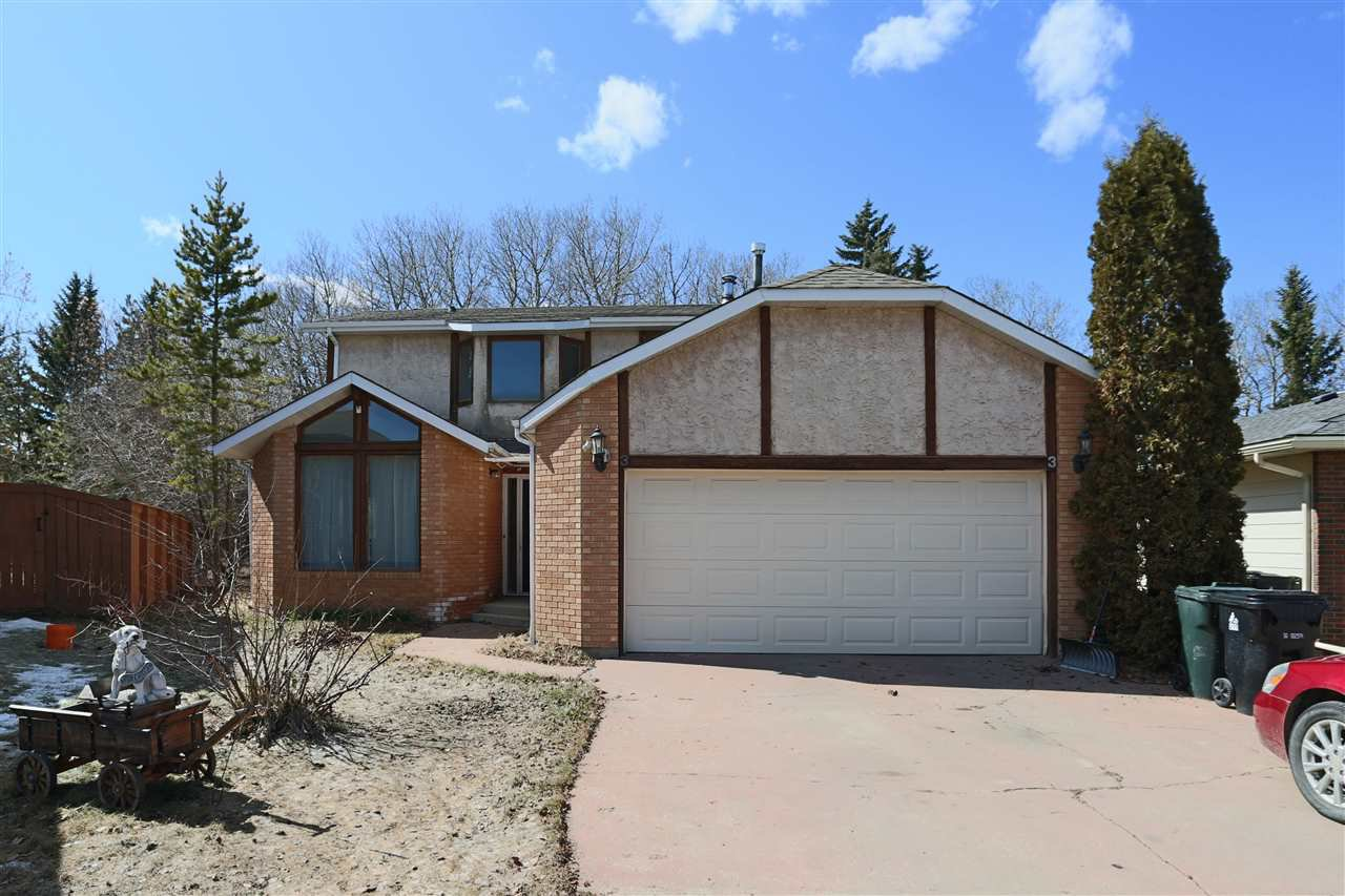 Main Photo: 3 WESTWOOD Place: Spruce Grove House for sale : MLS®# E4192113