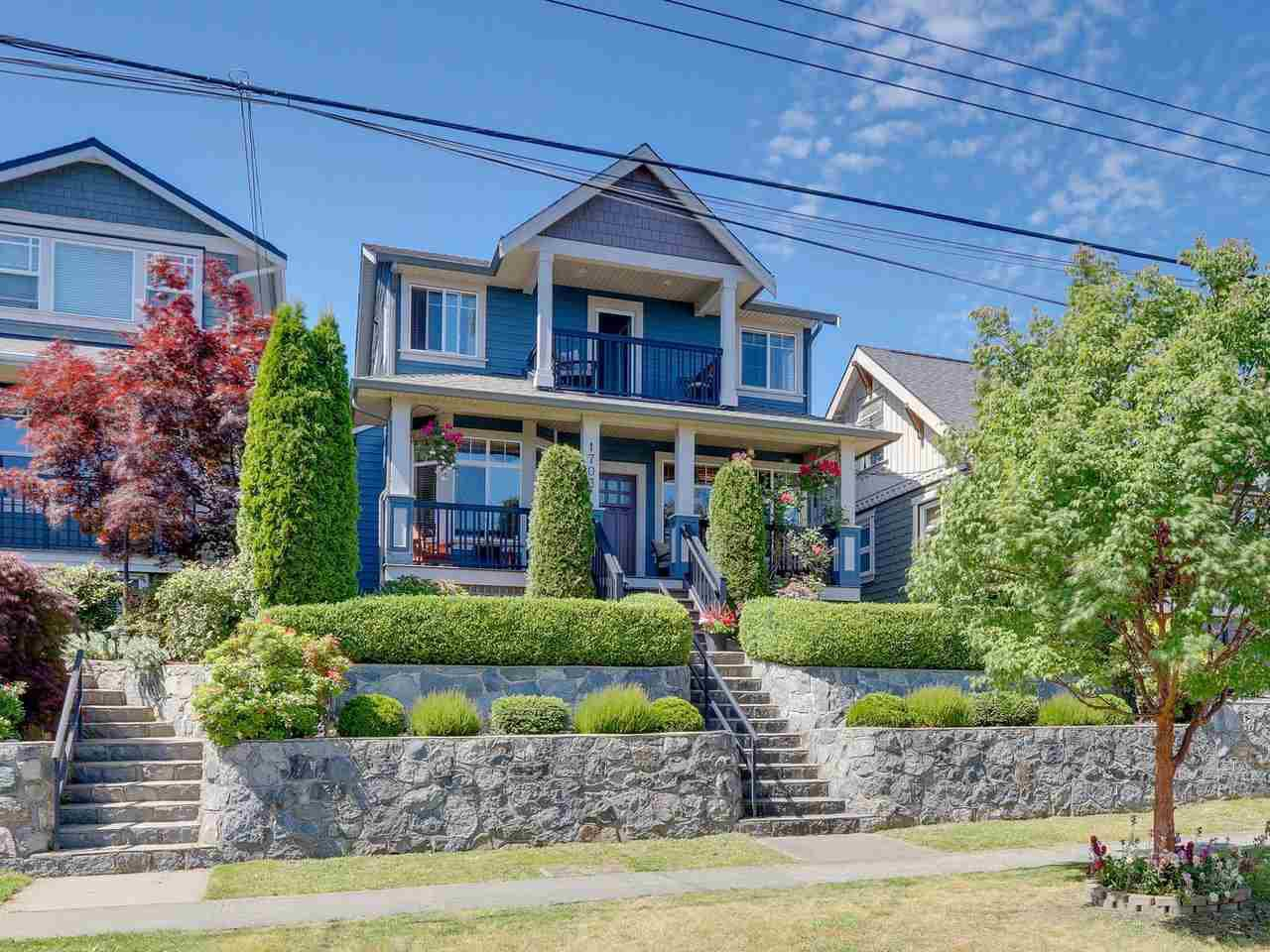 Main Photo: 1703 SEVENTH Avenue in New Westminster: West End NW House for sale : MLS®# R2471849