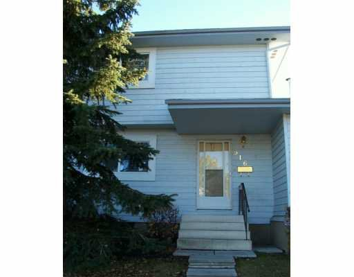 Main Photo: : Airdrie Townhouse for sale : MLS®# C3236415