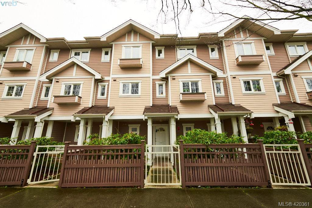 Main Photo: 6 1870 Cook St in VICTORIA: Vi Central Park Row/Townhouse for sale (Victoria)  : MLS®# 831939