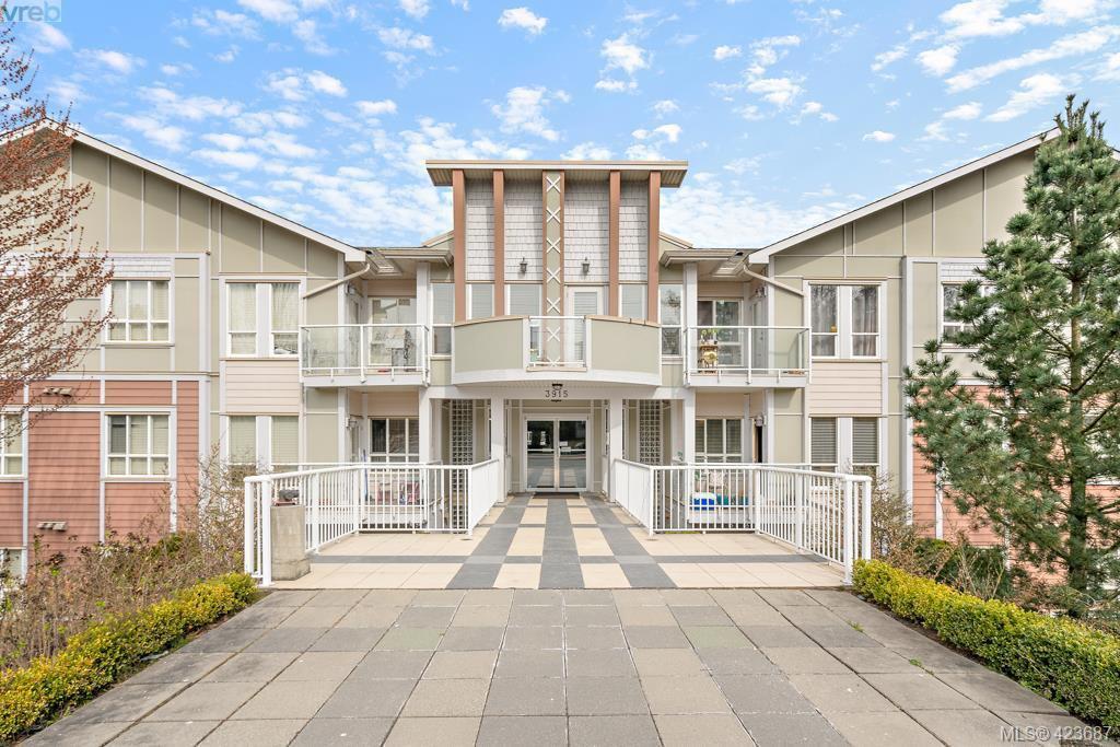 Main Photo: 306 3915 Carey Road in VICTORIA: SW Gateway Condo Apartment for sale (Saanich West)  : MLS®# 423687