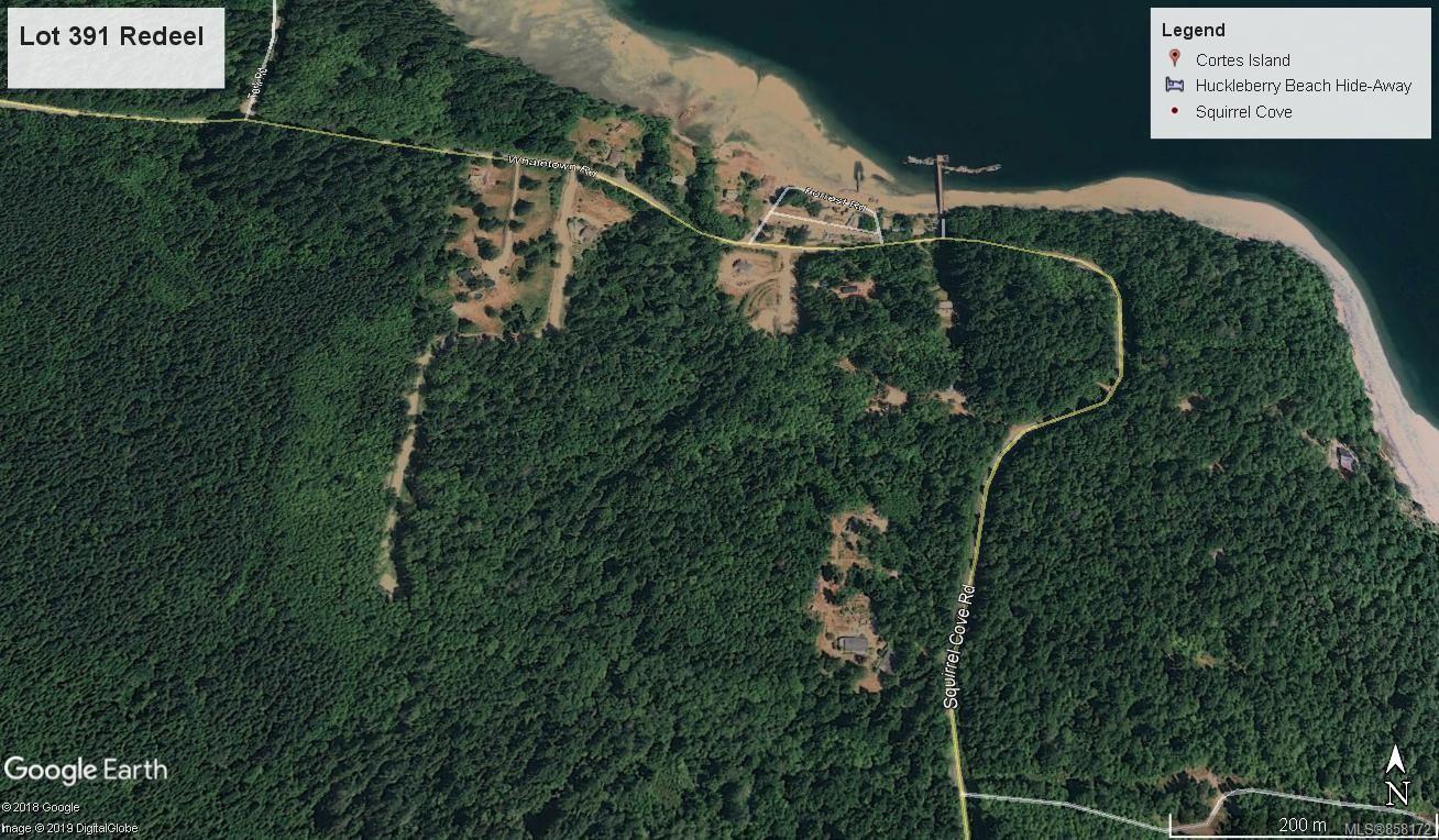 Main Photo: Lot 391 Redeel Rd in : Isl Cortes Island Land for sale (Islands)  : MLS®# 858172