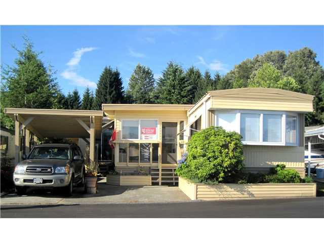 """Main Photo: 48 201 CAYER Street in Coquitlam: Maillardville Manufactured Home for sale in """"WILDWOOD PARK"""" : MLS®# V1017750"""