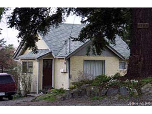 Main Photo: 1163 W Burnside Rd in VICTORIA: SW Strawberry Vale House for sale (Saanich West)  : MLS®# 299254