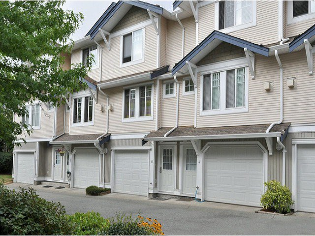 "Main Photo: 14 6533 121ST Street in Surrey: West Newton Townhouse for sale in ""Stonebriar"" : MLS®# F1418676"