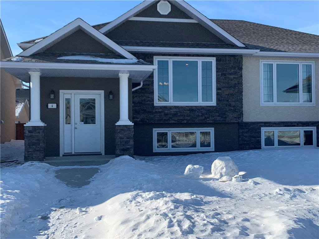Main Photo: 4 CAMBRIDGE Way in Niverville: Fifth Avenue Estates Residential for sale (R07)  : MLS®# 202006463