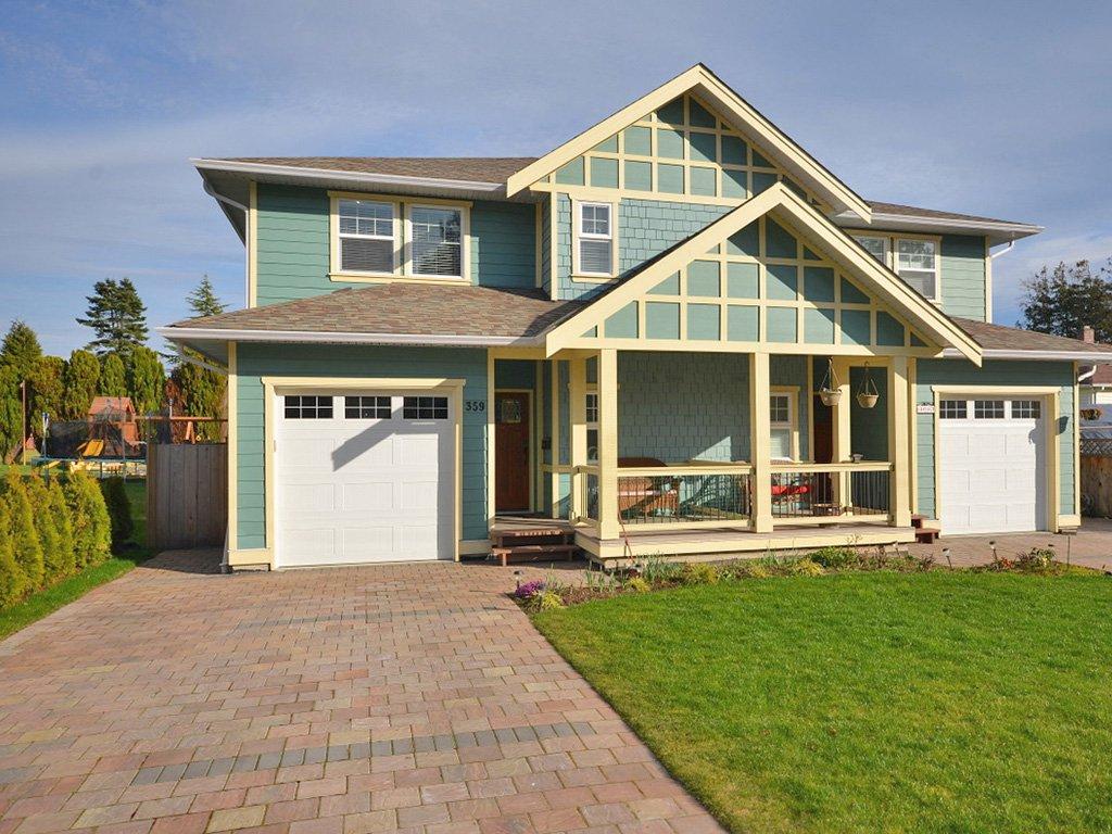 Main Photo: 359 Kinver St in VICTORIA: Es Saxe Point Half Duplex for sale (Esquimalt)  : MLS®# 598554