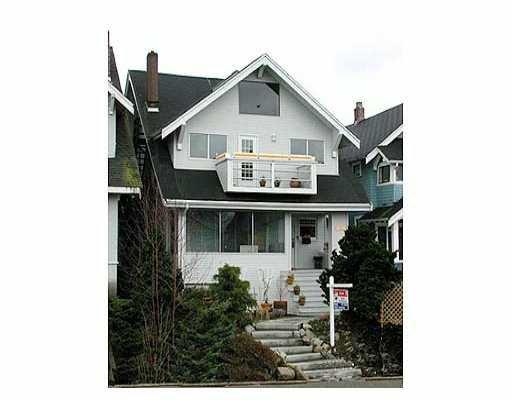 Main Photo: 2626 W 10TH AV in : Kitsilano House for sale : MLS®# V281391