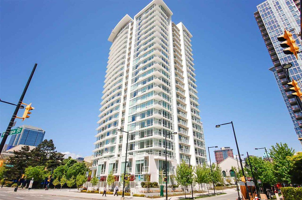 Main Photo: # 1106 161 W GEORGIA ST in Burnaby: Vancouver Heights Condo for sale (Burnaby North)  : MLS®# V953999